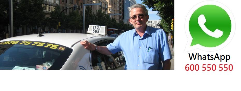 Carlos Alonso orgulloso de ser el propietario del taxi más cómodo y moderno de Zaragoza